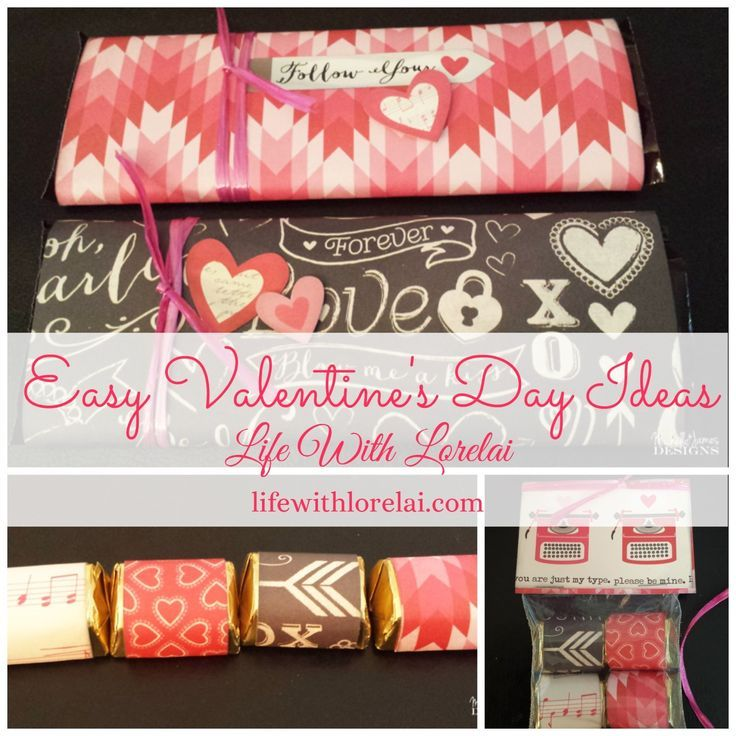 Easy Valentine's Day Ideas - Make an Impression with these DIY Valentines. Perfect for kids, co-workers, anyone. #DIY #Valentines #ValentinesDay