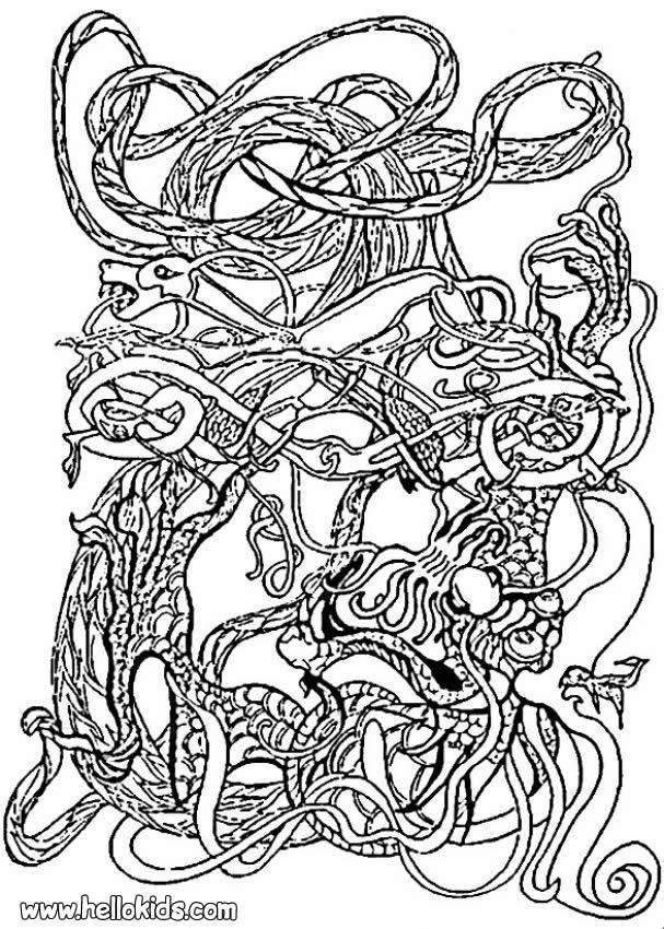 Celtic coloring page celtic design pinterest for Celtic designs coloring pages