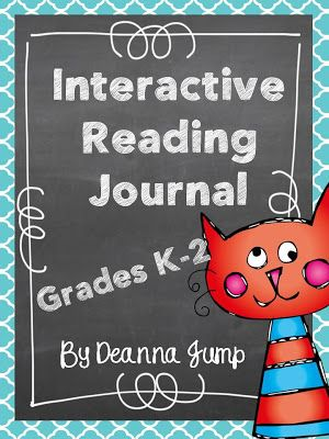 Mrs Jump's class: Interactive Reading Journal for K-2 Common Core Coming Soon and the first week of school!