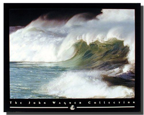 Enhance your home decor with this beautiful coastal crashing wave's ocean beach scenery art print poster. This wall poster of ocean beach paradise has provided a spectacular light show for your viewing pleasure. It will surely bring a charming ambiance into your boring dull, empty walls. It also ensures high quality product with perfect color accuracy.