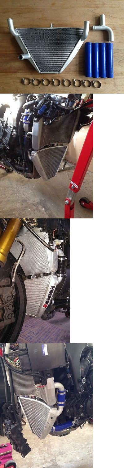 motorcycles And scooters: 2009 Yamaha Yzf Yamaha R1 2009 2010 Additional Race Radiator Raceradiator Trackbike Rennkuhler BUY IT NOW ONLY: $575.0