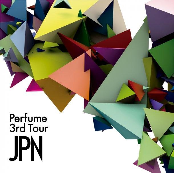 ライブDVD「Perfume 3rd Tour『JPN』」通常盤ジャケット