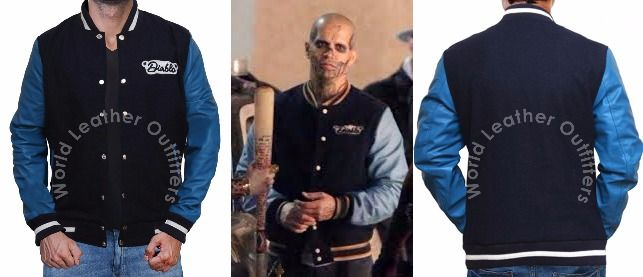 "Get this Stylish and Ravishing Jacket Inspired from one of the Blockbuster hollywood movie ""Suicide Squad"",world leather outfitters created Jay Hernandez El diablo Letterman Jacket,Hurry-up Order Now 100% money back guarantee .Don,t miss the chance and make your impression like El Diablo!!"