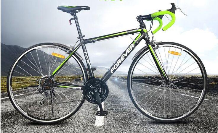 347.21$  Buy now - http://aliwbo.worldwells.pw/go.php?t=32680387370 - tb818/Permanent/21speed/highway car/aluminum alloy frame/double caliper brake/700C/ultralight Male Female bike/F02