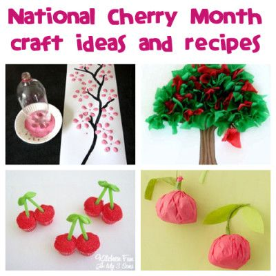 february craft ideas for toddlers february is national cherry month try these crafts and 6571