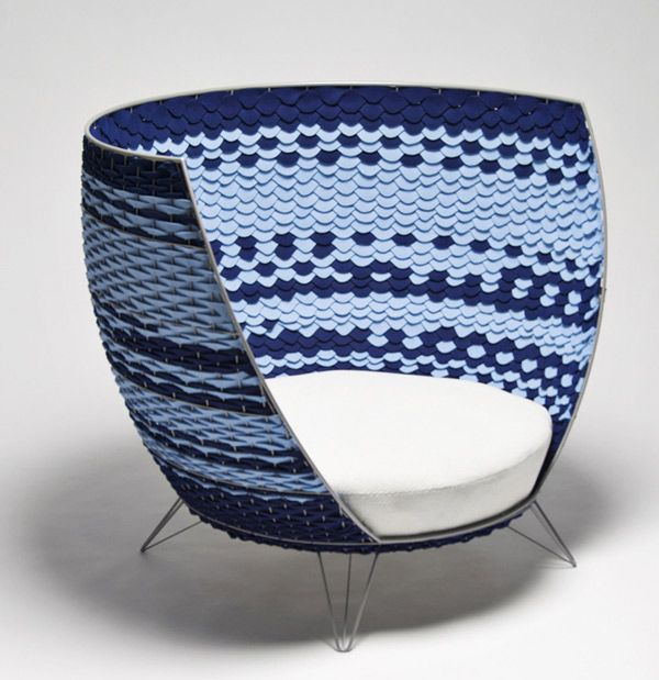 Superb Chair Entitled Big Basket, This Piece By Designer Ola Gillgren Is Dramatic  And Whimsical Awesome Ideas