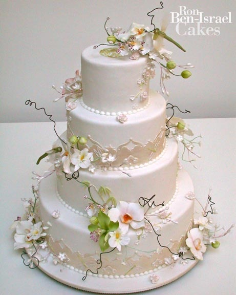 Orchid cake by Ron Ben Isreal Cakes