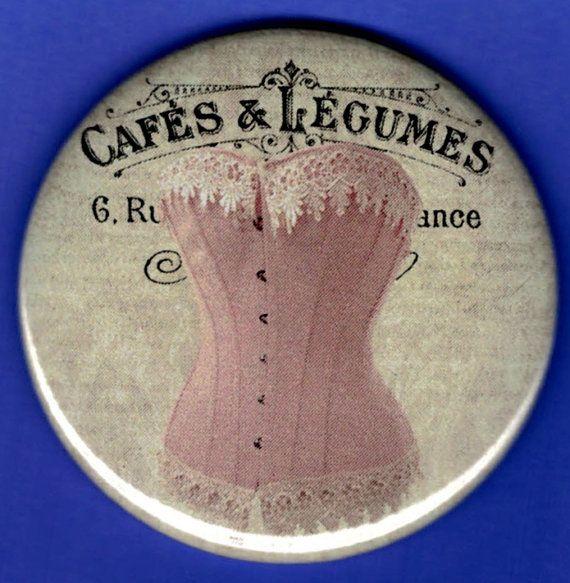 Specchio: Rosa corsetto con pizzo bianco e Script di hojumo