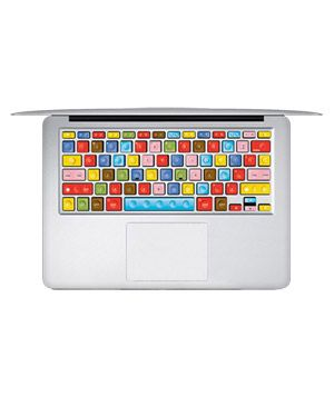 LEGO Macbook Keyboard Decal Humor Sticker Art Protector | 14 Cool Tech