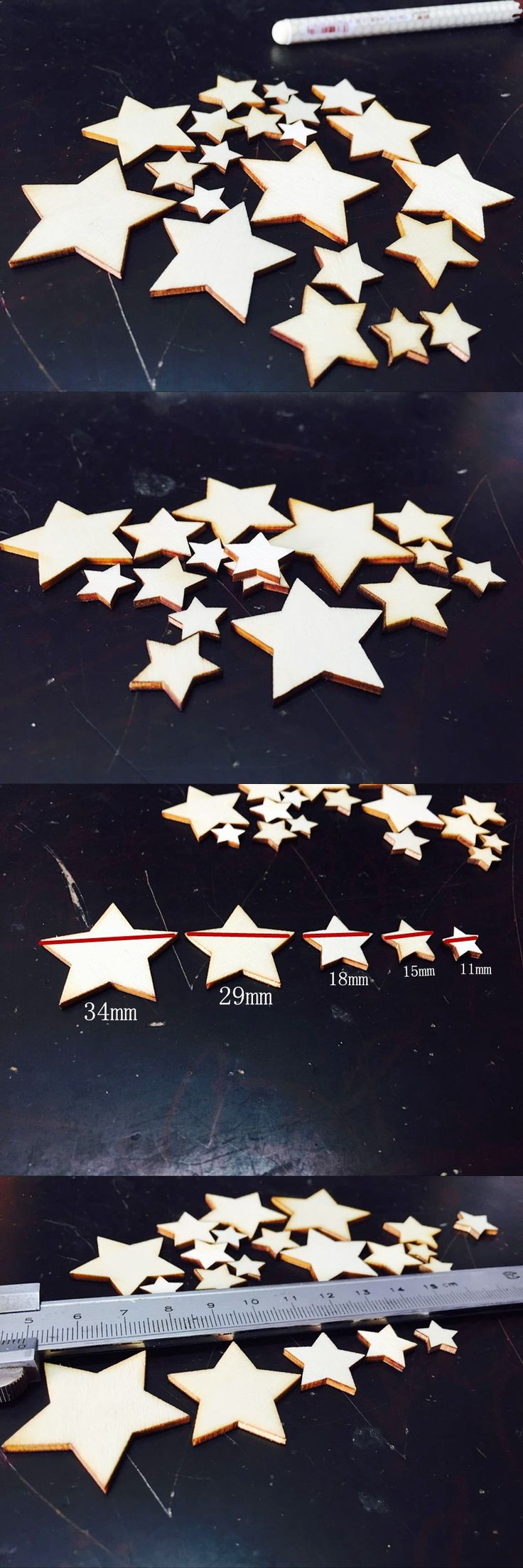Unfinished wood craft pieces - Unfinished Wood Craft Supplies Unfinished Wood Craft Supplies 50pcs Mixed Star Blank Unfinished Wood Crafts
