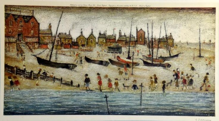 § Laurence Stephen Lowry R.A. (British 1887-1976):