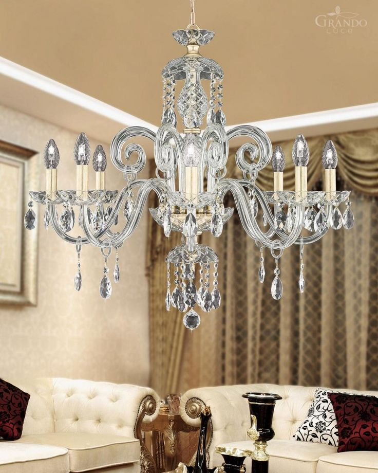 High Quality Transparent Chandelier