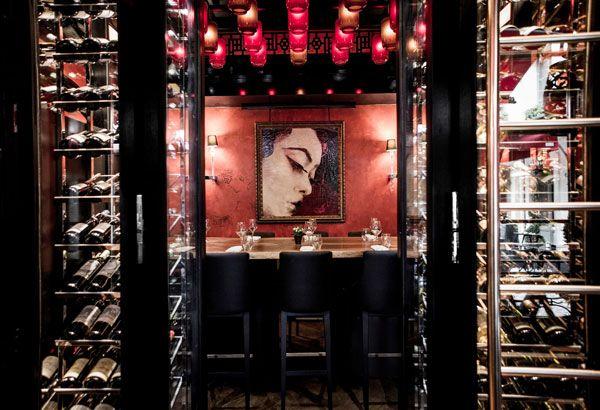 La Wine Room du Buddha-Bar Hotel Paris #bar #gastronomie #restaurant #biere #whisky