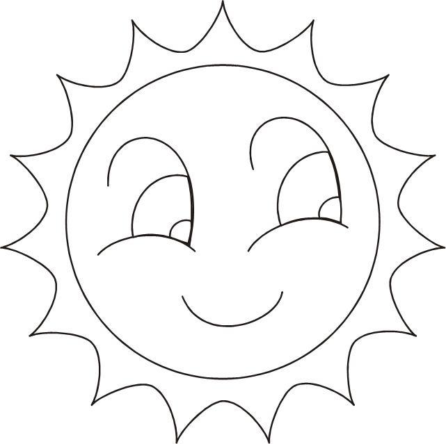 Шаблоны солнышко