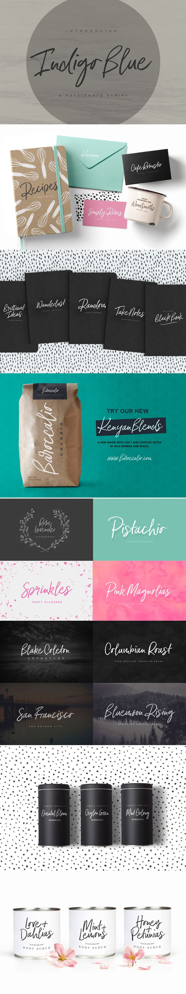 cursive fonts for wedding cards%0A Indigo is a beautiful  bouncy  script font perfect for adding a special  touch to