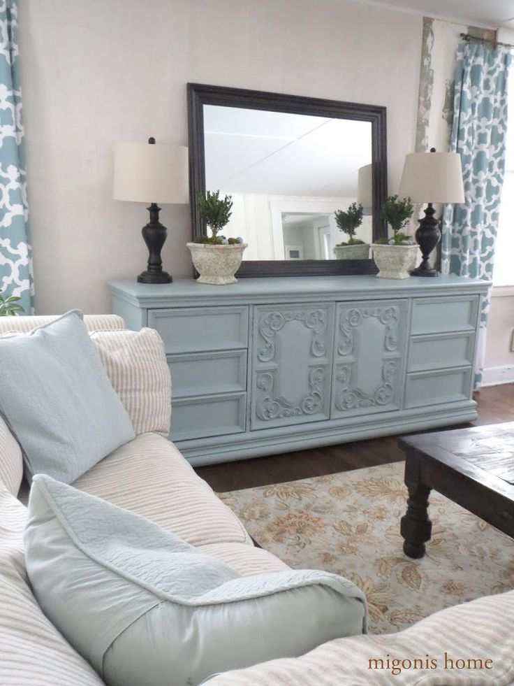 17 best images about painted hollywood regency on - Dresser as tv stand in living room ...
