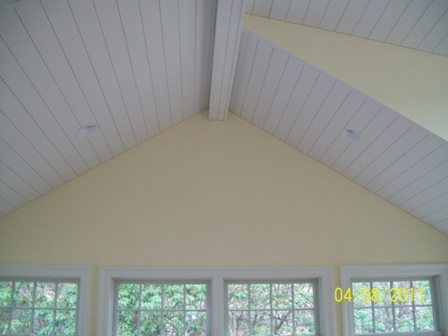 tongue & groove painted pine ceiling | home style | pinterest