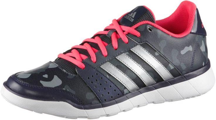 #adidas #Essentials #Fun #Fitnessschuhe #Damen #anthrazit/silberfarben/rot