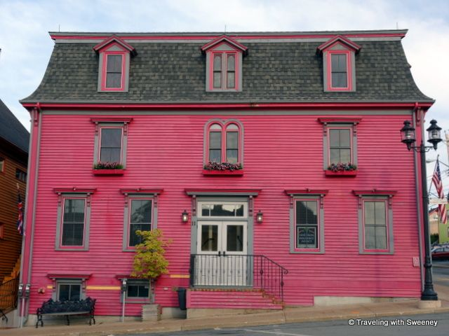"""Cranberry Suites addition of the Mariner King Inn in Lunenburg, Nova Scotia"""