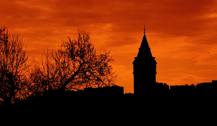 Galata Tower from Cihangir