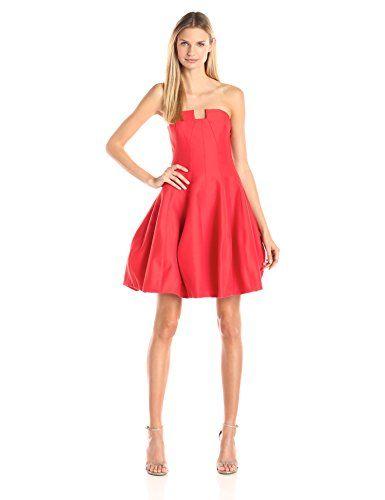 HALSTON HERITAGE Women's Silk Faille Strapless Structured Dress with Notch Neck, Lipstick, 0 Halston Heritage http://smile.amazon.com/dp/B014F1LXEQ/ref=cm_sw_r_pi_dp_uRJPwb1FRJ5ED