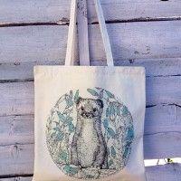 torba z gronostajem , torby na zakupy