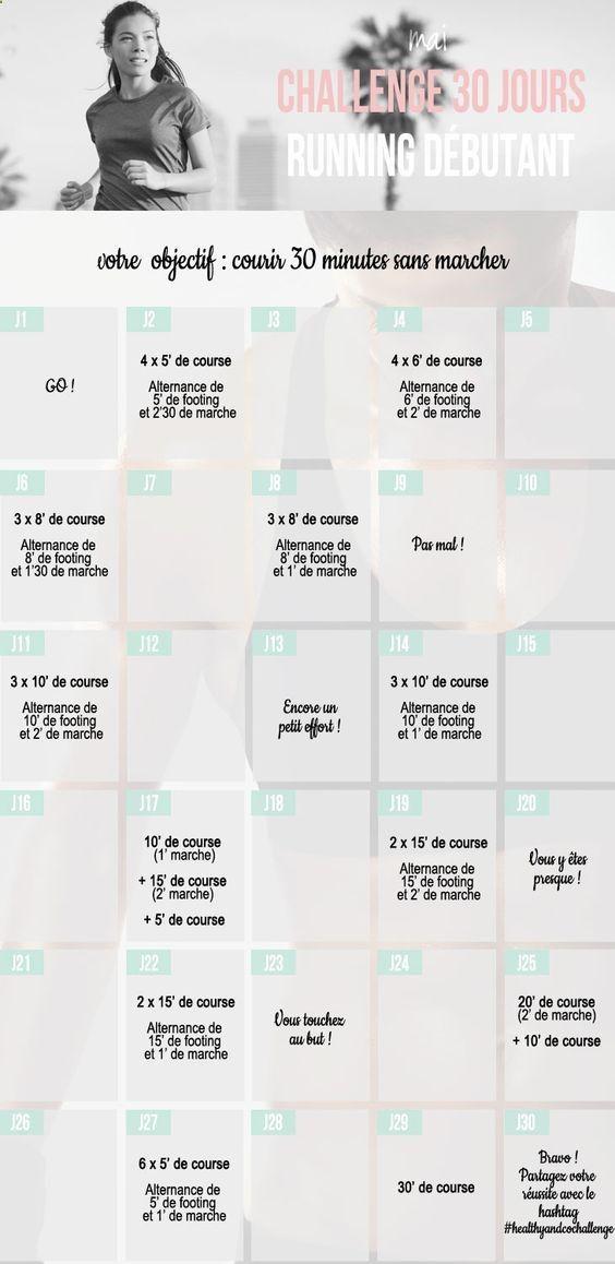 Running pour débutants. Objectif : courir 30 minutes sans marcher