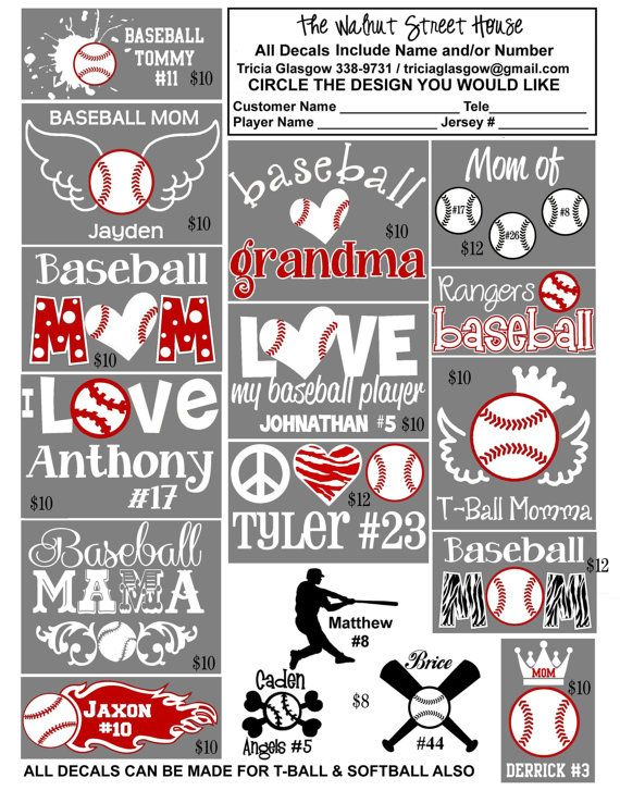 Top  Best Vinyl Car Decals Ideas On Pinterest Decals For Cars - Custom car decals baseball