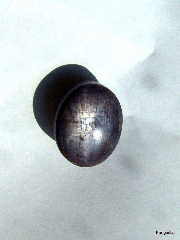 cabochon saphir toil naturel 6 branches pierre prcieuse 454 carats 196x15 - 45 Ans De Mariage Pierre Precieuse