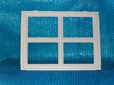 "GARAGE DOOR WINDOW Insert ""stockton"" 12 1/2""x 16 1/2"" stk#(2036)"