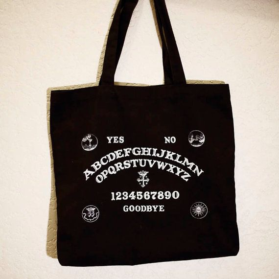 Our ever popular screen printed Ouija tote is available for purchase on our Etsy store! https://www.etsy.com/au/listing/168584943/ouija-tote-bag