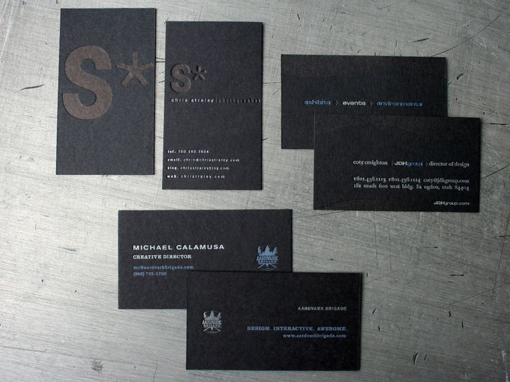 58 best business cards images on pinterest business card design matte letterpress cards by beastpieces reheart Images