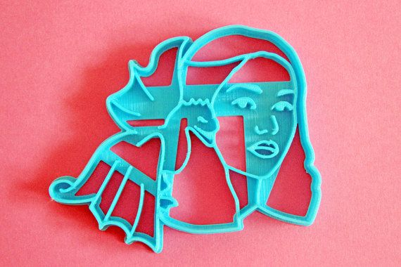 Cookie Cutter Set Game of thrones / Daenerys by Cookillu on Etsy