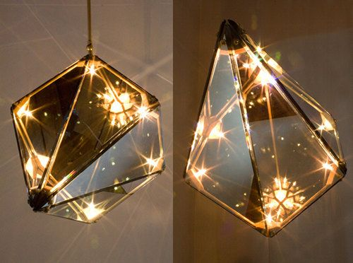Maxhedron, geometric light from Bec Brittain