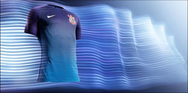 Nova camisa azul do Corinthians