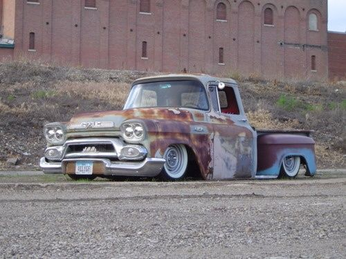 cool rat rod truck pictures