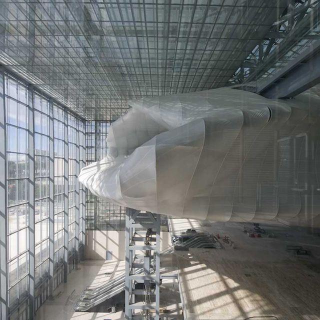 Centro Congressi Eur (Roma), 'La Nuvola' di Fuksas