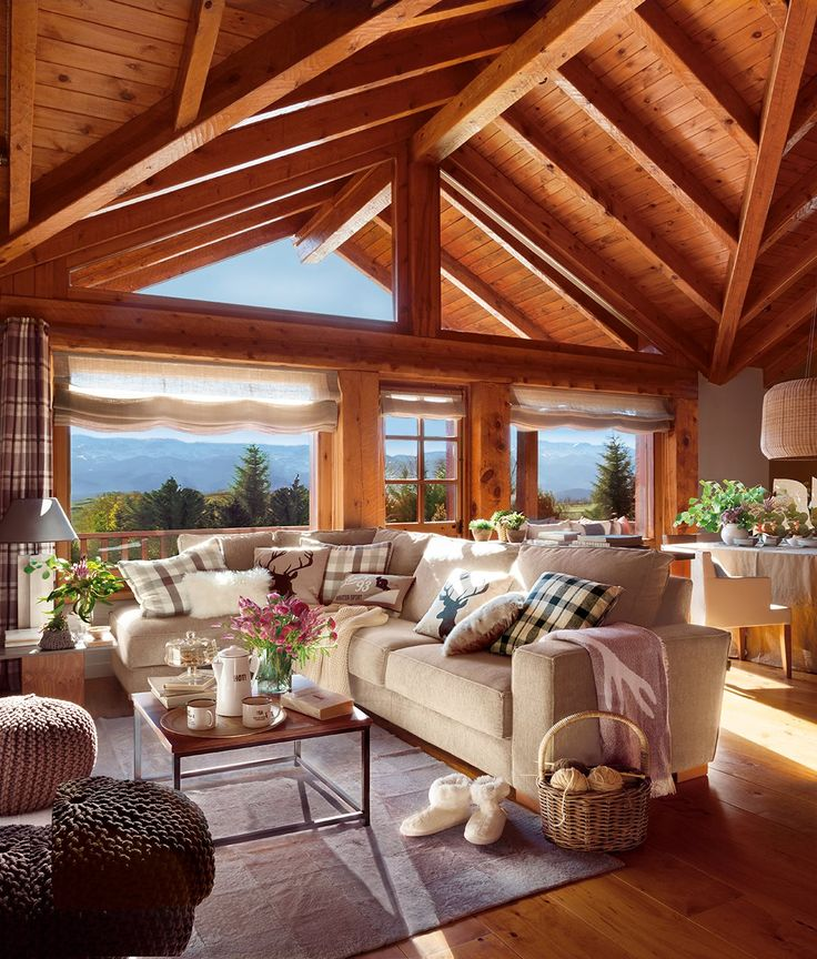 Más de 1000 ideas sobre decoración de cabaña rústica en pinterest ...