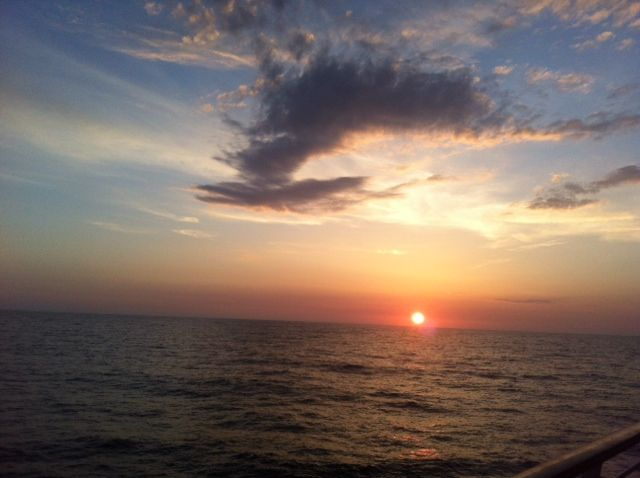 #sunset in the #sea #croise #royalcarrabien