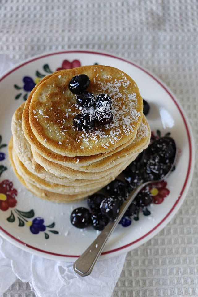 Perfect fluffy pancakes (like the ones in American movies) | Yellow lemon tree