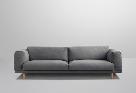 Nice & cozy sofa  Muuto - Designs - Sofas - Rest - Designed by Anderssen & Voll - muuto.com