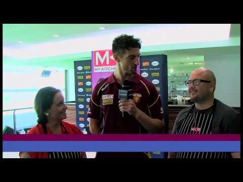 It was @Brisbane Lions vs. #MyKitchenRules in a #Queensland #cookoff this week... See who made the most of their fresh @AussieFarmersDirect produce and #lamb to come out on top!