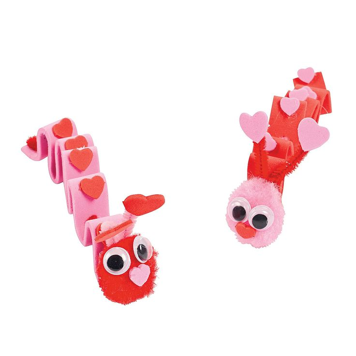 Valentine Inchworm Kids' Craft Kit