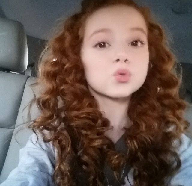 Francesca Capaldi Red Hair Color Hair Styles 2016 Hair