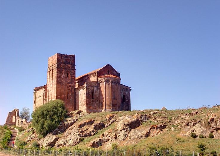 Sant'Antioco di Bisarcio - Ozieri, Sardinia. Is the largest  Romanesque Church in Sardinia (XI Century).