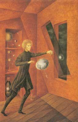 Remedios Varo,  Phenomenon of Weightlessness Fine Art Reproduction Oil Painting