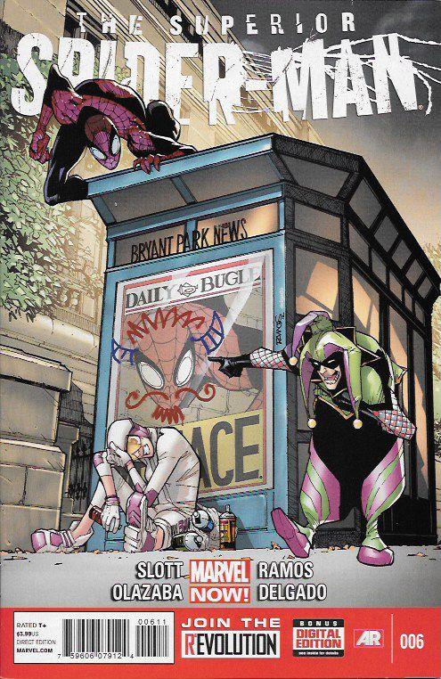 The Superior Spider-Man # 6 Marvel Now!