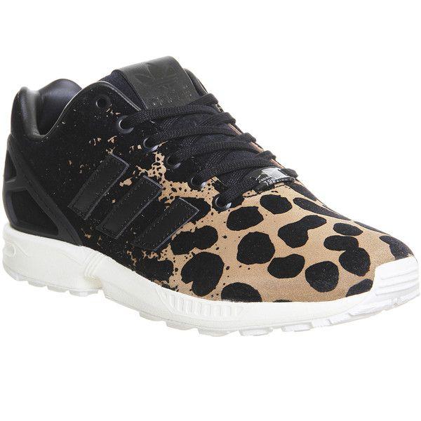 zapatillas adidas flux animal print