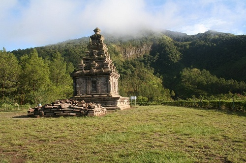 Gedong Songo Temple, Central Java...