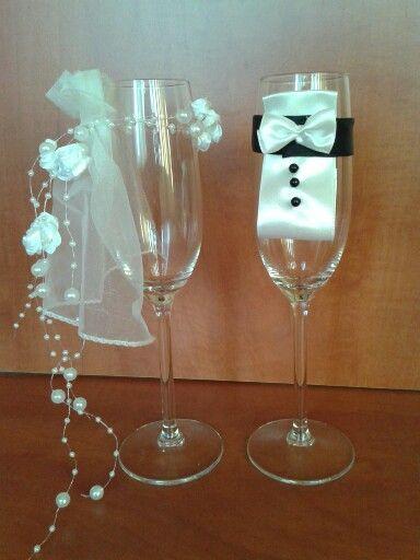 Esküvőre - Házassági évfordulóra! - Pohár pár!